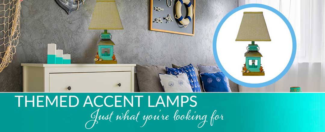 Nautical Theme Accent lamps