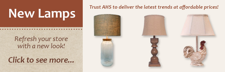 Trust AHS to deliver the latest trends at affordable prices!